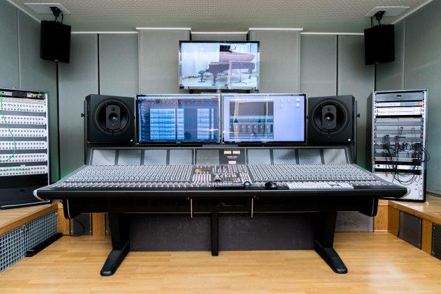 ICEM's recording studio